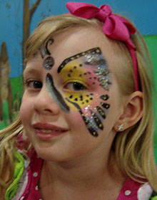 Baltimore Kids Face Painting