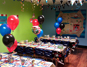 Pirate Baltimore Kids Birthday Parties